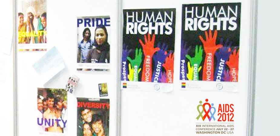 Alliance-India-Posters-on-Display-at-AIDS-2012