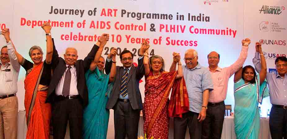 Marking-a-decade-of-free-antiretroviral-treatment-(ART)-in-India_07.04.2014
