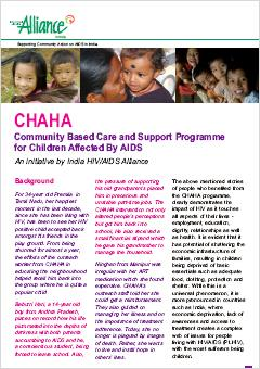 CHAHA: Community Based Care and Support Programme for Children