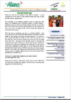 Mythri e-update, Volume 1, Issue 1, December 2007