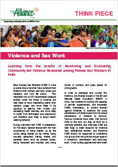 Violence and Sex Work