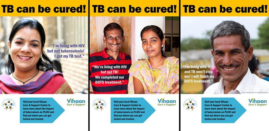 World TB Day 2014_New poster campaign to increase awareness among PLHIV of TB co-infection _English version
