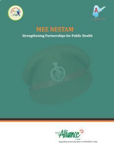 2014_AllianceIndia_MEE-NESTAM-Strengthening-Partnerships-for-Public-Health