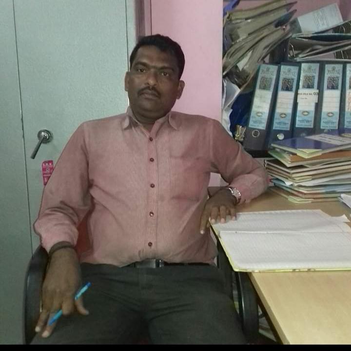 Ashok at the COVID-19 response centre